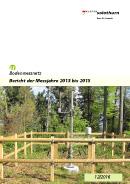 Titelbild Bericht der Messjahre 2013 bis 2015 des Kantons Solothurn