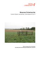 Titelbild Jahresbericht 2015, Bodenmessnetz Kanton Basel-Landschaft