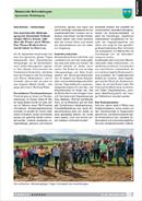 Titelbild Gemeinde Schneisingen: Spannender Waldumgang. Artikel UMWELT AARGAU, Nr. 66, November 2014